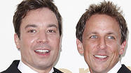 "Seth Meyers has been tapped to be the host of NBC's ""Late Night"" after Jimmy Fallon takes over for Jay Leno as host of ""The Tonight Show"" next year."