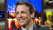 "NBC officially named Seth Meyers to replace Jimmy Fallon as host of  ""Late Night"" in 2014 when Fallon takes over ""The Tonight Show."""