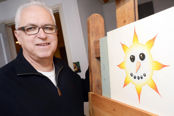 "Michael ""Mike"" Gouker's colored-pencil sunburst was featured on the Feb. 17 edition of CBS' ""Sunday Morning."" The Hagerstown resident is a retired art teacher and professional artist."