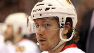 Duncan Keith began listing the defensemen with whom he has been paired in recent seasons with the Blackhawks.