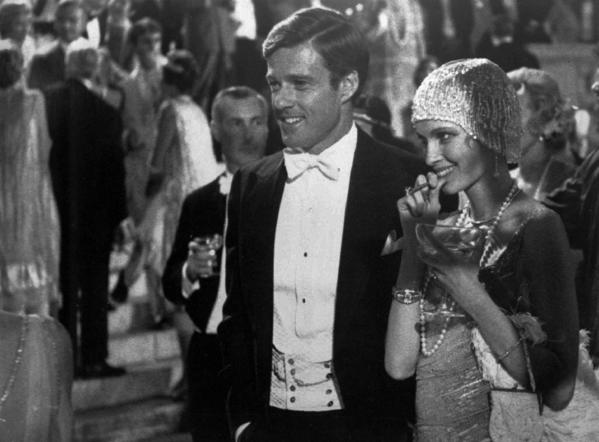 "Robert Redford played Jay Gatsby and Mia Farrow Daisy in the 1974 adaptation of ""The Great Gatsby."""