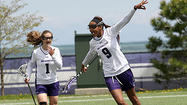NU lacrosse pulls away in 2nd half