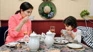 Enjoying sips of teas such as ginger-peach and tasty treats like mango-curry chicken salad rounds and blackberry tarts, several Tri-State area mothers enjoyed a Mother's Day tea Sunday at Sereni-Tea Room in Funkstown.