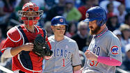 WASHINGTON — The shoe was on the other foot for once, and this time the Cubs weren't the ones shooting themselves in it.