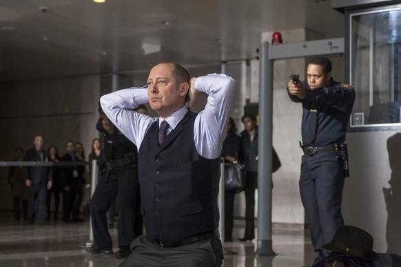 "James Spader as Raymond ""Red"" Reddington"