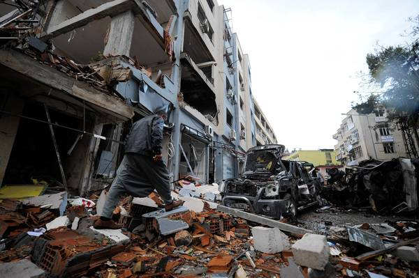 The death toll in Saturday's bombings in Reyhanli, Turkey, rose to 46. Turkish officials have publicly blamed Syrian intelligence for the blasts, an accusation rejected by Syria.