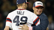 The fifth-place White Sox have been far from perfect so far this season, but Sunday night's dominant performance by left-hander Chris Sale is a step in the right direction.