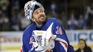 Henrik Lundqvist slammed his stick in disgust when an overtime loss in Washington put the New York Rangers on the brink of elimination.