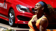 <strong>Serena Williams</strong> kept the No. 1, and added No. 50.