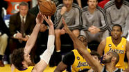 "The Lakers settled into the off-season with word that Pau Gasol underwent a procedure to help heal his <a href=""http://www.latimes.com/sports/lakersnow/la-sp-ln-pau-gasol-medical-procedure-remove-scar-tissue-knees-20130508,0,1789076.story"">aching knees</a>.  He'll also receive <a href=""http://www.latimes.com/sports/lakersnow/la-sp-ln-lakers-pau-gasol-knee-procedure-20130509,0,7062767.story"">stem cell injections</a> and then have 12 weeks off before returning to basketball-related activities."