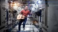 It's being called the first music video made in space.