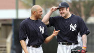 New York Yankees pitchers Mariano Rivera and Joba Chamberlain created a small media stir on Saturday with a less-than-cordial exchange in the dugout before a game against the Royals in Kansas City.