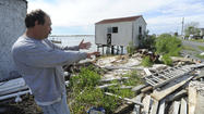 Superstorm Sandy barely laid a glove on Smith Island last fall, to hear residents tell it. Though storm-driven flooding damaged hundreds of homes in Crisfield and the rest of Somerset County, only a couple islanders got any water in their homes from the surging Chesapeake Bay.