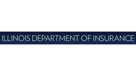 A screen grab of the Illinois Department of Insurance logo.