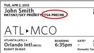 It's not exactly like winning the lottery, but boarding passes for some frequent fliers on US Airways, Delta and United airlines will now include a symbol that lets them go through screening faster.