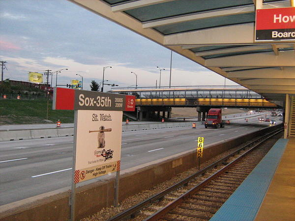 The Sox-35th Red Line stop will close May 19 for five months.