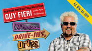 "Baltimore's Sip & Bite restaurant is one of the restaurants featured in Guy Fieri's new book, ""Diners, Drive-ins and Dives: The Funky Finds in Flavortown,"" in which Fieri takes readers back to some of his favorite finds from recent seasons of his long-running Food Network show."