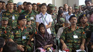 NEW DELHI, India — The Bangladesh army announced Monday it would end its search for bodies in the rubble of a garment factory complex that collapsed nearly three weeks ago in a suburb of the capital, Dhaka.