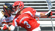 At times, Ben DeLuca is like so many opposing defensemen who are caught watching Cornell fifth-year senior attackman Rob Pannell's wizardry. Unlike those defensemen, however, DeLuca, who is the head coach of the Big Red, is not tasked with guarding Pannell.