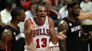 Joakim Noah got voted by coaches onto the NBA's All-Defensive first team Monday, tying the Knicks' Tyson Chandler for the center spot.