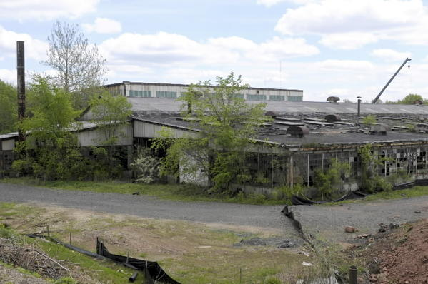 The former National Welding site in Newington where Gov. Malloy announced a brownfield grant.s Cedar Street Station .