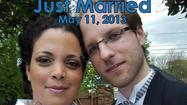 Brenda Thalman & Matthias Bergmann Wedding May 11, 2013 Of Crystal Lake, IL Married in a quiet ceremony in front of the fireplace with friends and their children, Brenda & Mattias we married at 2pm On Saturday, May 11, 2013. The bride wore a beautiful long white gown with train and her daughter was bridesmaid. Rev Pamela IL Wedding Officiant, officiated the ceremony in her home Pine Manor located in Mount Prospect, IL. The 1920's Dutch Colonial home features a beautiful garden and a bridal suite where the bride prepared before the ceremony. This unique wedding venue offers an intimate, home elegance perfect for a small guest list of up to 30, or a private elopement to Chicagoland's Northwest suburbs. Interfaith Minister performs your wedding your way including handfastings and commitment ceremonies! GLBT & pagan friendly. Also available for baptisms and naming. 847-873-7463 8-8pm CST please. http://smallpartyvenue.com packages include In-home catering and all event planning.