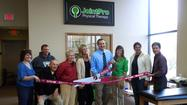 JointPro Physical Therapy recently held a community Open House and ribbon cutting. The new clinic is owned by Frankfort Physical Therapist and Orthopedic Specialist Josh Feigl, PT, OCS, CSCS. It is located in the Crown Centre of Frankfort at 9645 Lincoln-Way Lane, Suite #116, in Frankfort.
