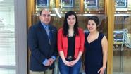 Jacquelin Camacho and Shelby Soto, juniors at Wheeling High School, were selected to attend the University of Illinois in Urbana-Champaign campus on Thursday, May 2, for a day of fun and learning about college and language translation. They were accompanied by their Spanish teachers, Maria Rivas and Rebecca Castro, respectively.