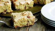 A walnut cake perfect for afternoon coffee