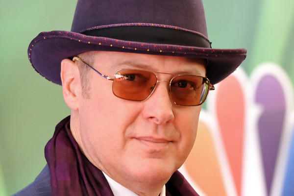 James Spader arrives at the NBC Network 2013 Upfront