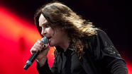 Ozzy Osbourne of Black Sabbath at Download 2012