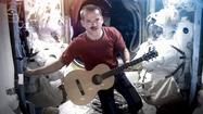 "The cover of ""A Space Oddity"" by Chris Hadfield, International Space Station commander, is going galactically viral Monday."