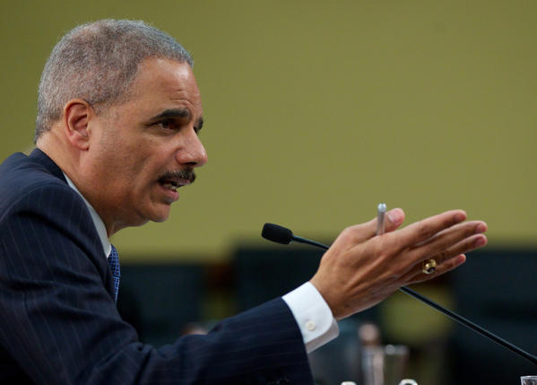 Atty. Gen. Eric H. Holder Jr. received a formal complaint from the Associated Press over the monitoring of journalists' communications.