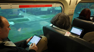 Metra provides over 300,000 passenger trips a day and thousands of Chicagoland customers have come to rely on personal electronic devices -- anything from cell phones to laptops to iPads and Kindles -- to ease long commutes.