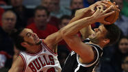 The Bulls' Joakim Noah earned honors for his defense. (Scott Strazzante/Tribune photo)
