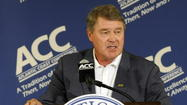 AMELIA ISLAND — Two years ago, as the college sports landscape began changing around them, ACC commissioner John Swofford and his school presidents started tossing around a phrase few of them had any real understanding about: grant of media rights.