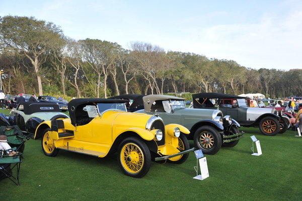 "This rare 1920 Kissel Model 6-45 ""Gold Bug"" Speedster is one of the highlights from the Roaring '20s that Jay Gatsby probably would have driven, according to Hagerty Insurance, a classic car insurance and valuation compa"