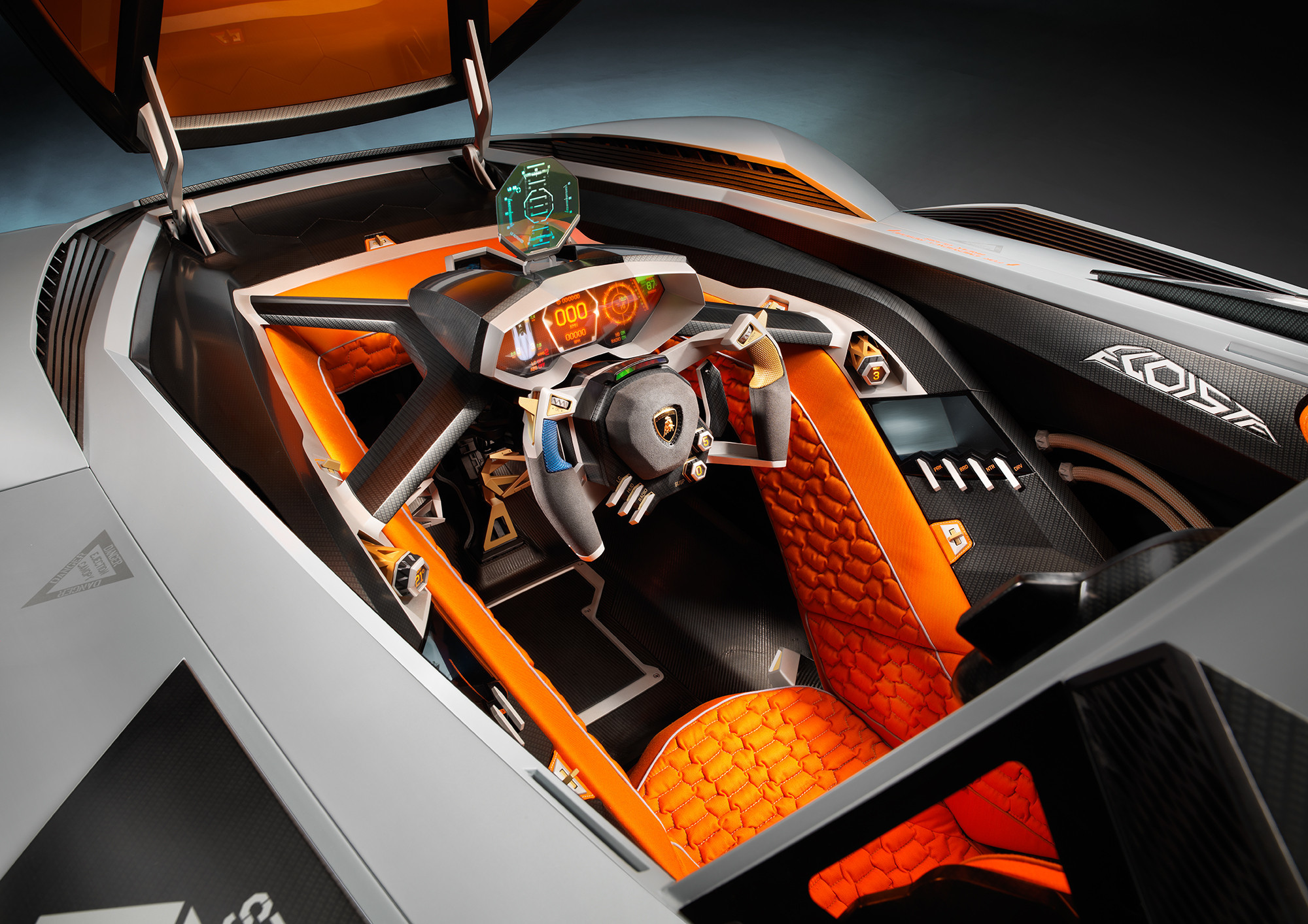 Lamborghini egoista horsepower