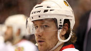 The Blackhawks' Duncan Keith. (Scott Strazzante/Tribune photo)
