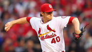 Cardinals starter Shelby Miller. (Dilip Vishwanat/Getty photo)