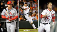 How does Manny Machado compare with some of baseball's young phenoms?
