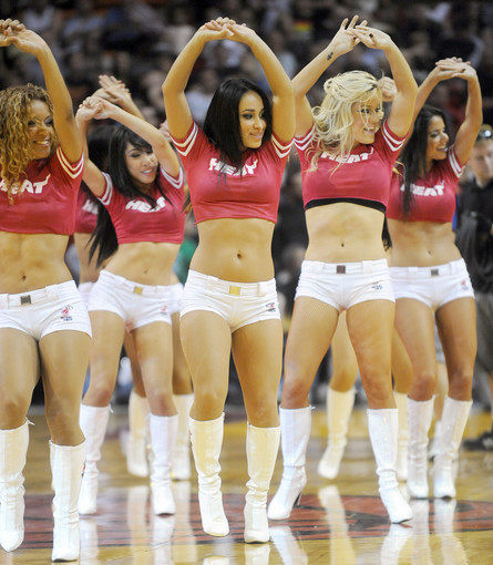 Photos: Miami Heat Dancers in action - Against Toronto