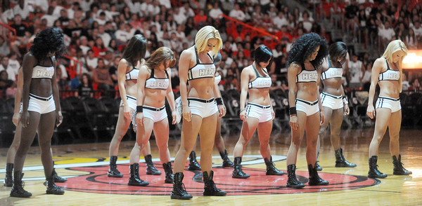 Photos: Miami Heat Dancers in action - Road rally party