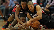 How do you sum up this Chicago Bulls-Miami Heat Eastern Conference semifinal series? The Bulls took a 2-0 lead in Monday night's game . . . and then ran out of gas.