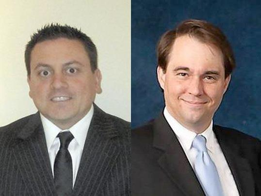 Park Ridge City Council candidate Vincent LaVecchia (left) is seeking a discovery recount after losing to incumbent 6th Ward Alderman Marc Mazzuca.