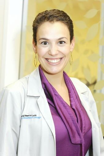 Dr. Natalia Henner, neonatologist at the Ann & Robert H. Lurie Children's Hospital of Chicago