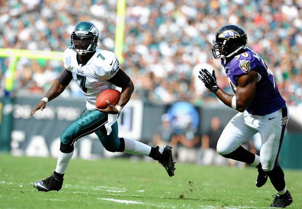 Eagles quarterback Michael Vick will need to use his speed to avoid defenders, as well as keep up with coach Chip Kelly's fast-paced offseason practices.
