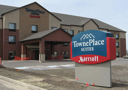 The Towneplace Suites by Marriott in Aberdeen has amenities including a swimming pool and an exercise room.
