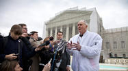 "The Supreme Court sided with Monsanto Co. on Monday, <a href=""http://www.supremecourt.gov/opinions/12pdf/11-796_c07d.pdf"">ruling</a> against a farmer who used beans grown from the company's patented, genetically modified soybean seeds to plant subsequent crops. It was apparently the first time the court had upheld patent protections on a self-replicating product -- in this case, a soybean that could survive being doused with Monsanto's Roundup herbicide. And it drew a flurry of warnings online about the implications for non-GMO foods and the food supply in general."