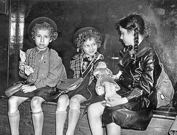In July 1939, Jewish refugee children from Germany and Austria wait for relatives or sponsors in London. The Kindertransport brought 10,000 children to safety.